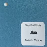 Sheet - Blue Metallic