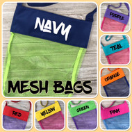 Sweet n Sassy EXCLUSIVE Mesh Bag