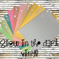 Glow Vinyl Sheets