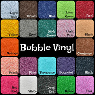 BUBBLE VINYL SHEETS