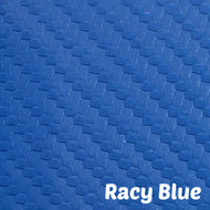 Sheet - Racy Blue Textured Marine Vinyl