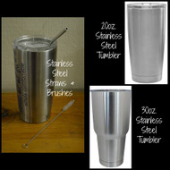 20 oz. Stainless Steel Straw for Tumblers