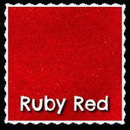 Sheet - Ruby Red Sparkle Mirror Vinyl