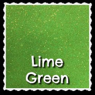 Sheet - Lime Green Sparkle Mirror Vinyl