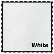 Sheet - Wet Look Pleather White