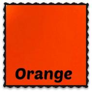 Roll - Wet Look Pleather Orange