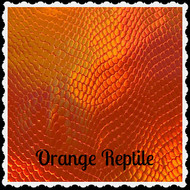 Orange Reptile Vinyl - Roll