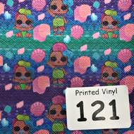 Printed Vinyl Sheets 121-162