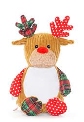 Harlequin Tartan Reindeer