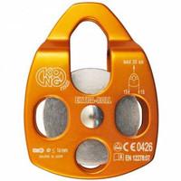 Kong Extra Roll Aluminum Pulley Single Sheve Orange