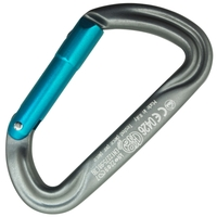 Kong Argon K Aluminum Straight Gate Grey/Cyan