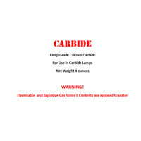 Calcium Carbide 4oz bottle