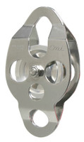 "CMI RP111 2 3/8"" Stainless Steel Double Ended Classic Pulley (Bushing)"