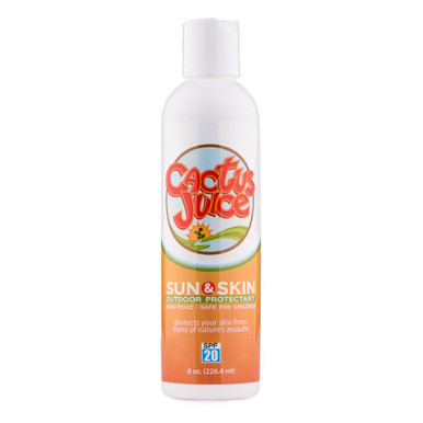 8oz, 20 SPF, sunscreen/repellent