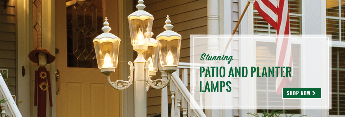 Patio and Planter Lamps