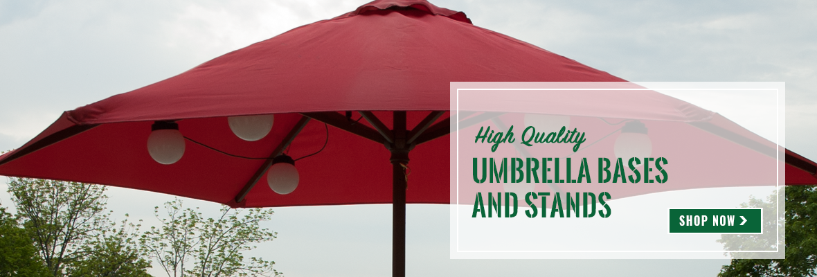 Umbrella Bases and Stands