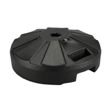 Umbrella Base for use with Outdoor Dining Tables 50lb - Black