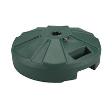 Umbrella Base for use with Outdoor Dining Tables 50lb - Green