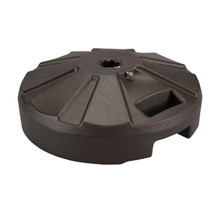 Umbrella Base for use with Outdoor Dining Tables 50lb - Bronze