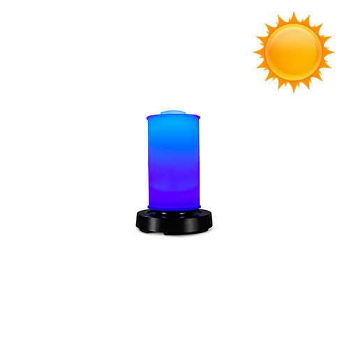 Patioglo Solar Powered Table Lamp Color Changing Led