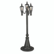 Citronella Park Style Patio Lantern - Black - CD