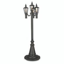 Islander - Citronella Park Style Patio Lantern - Black