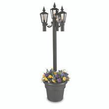 Islander - Citronella Park Style Planter Lantern - Black