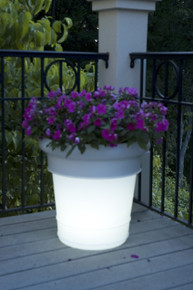 GardenGlo Planter - Illuminated Electric Color Changing LED