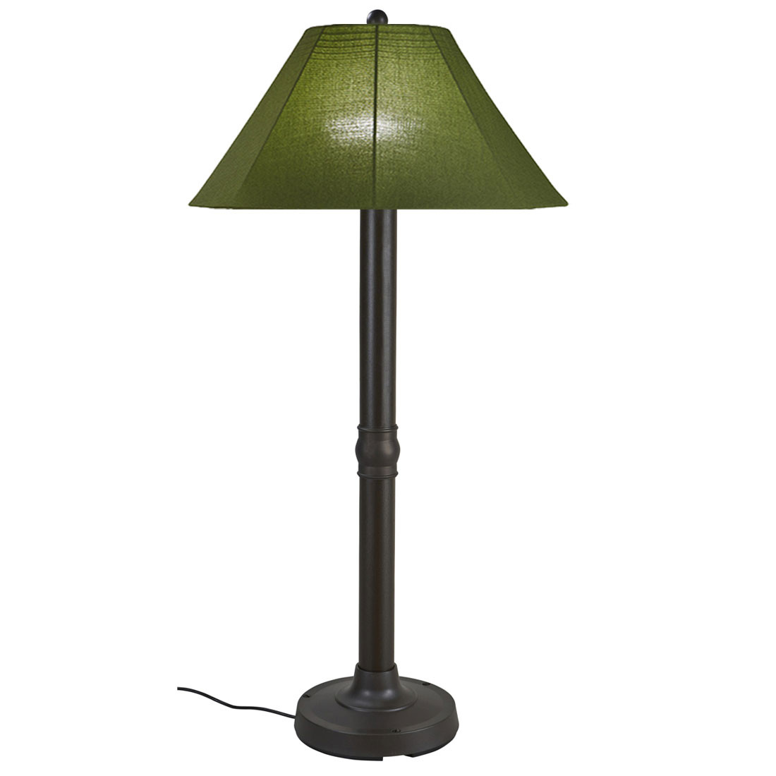 Catalina Floor Lamp Bronze Base With Spectrum Cilantro