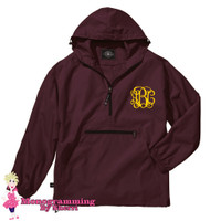Charles River Pack N Go Pullover (Maroon)