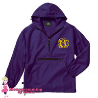 Charles River Pack N Go Pullover (Purple)
