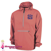 Charles River Pack N Go Pullover (Coral)