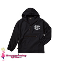 Charles River Youth Pack N Go Pullover (Black)