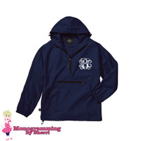 Charles River Youth Pack N Go Pullover (Navy)