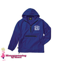 Charles River Youth Pack N Go Pullover (Royal)