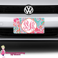 Lilly Inspired License Plate #7