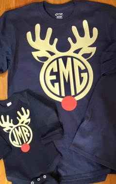 Show off your Christmas Spirit with one of our fun Rudolph Shirts!  Long sleeve tees that are soft and comfortable!