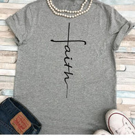 FAITH V NECK