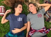 Left Chest Monogrammed T-Shirt