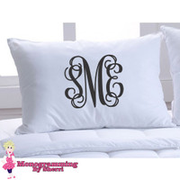 Pillowcase with Initials
