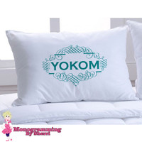 Pillowcase with Last Name