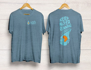 Keep the Water Running Performance Tee