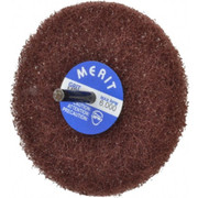 "Merit Abrasives - Buffing Wheel - 4"" dia 1ply Medium Abrasotex Disc Wheel"