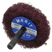 "Merit Abrasives - Buffing Wheel - 2"" dia 1ply Medium Abrasotex Disc Wheel"
