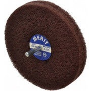 "Merit Abrasives - Buffing Wheel - 5"" dia 2ply Vfine Abrasotex Disc Wheel"