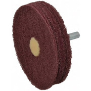 "Merit Abrasives - Buffing Wheel - 3"" dia 3 Ply Vfine Abrasotex Disc Wheel"