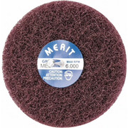 "Merit Abrasives - Buffing Wheel - 4"" dia 2ply Medium Abrasotex Disc Wheel"