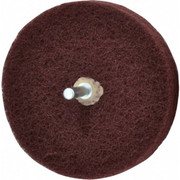 "Merit Abrasives - Buffing Wheel - 4"" dia 3 Ply Vfine Abrasotex Disc Wheel"