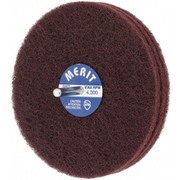"Merit Abrasives - Buffing Wheel - 5"" dia 3 Ply Vfine Abrasotex Disc Wheel"