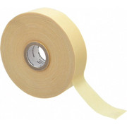 """3M™ - Electrical Tape - 1"""" x 110', Yellow Cotton Cloth Electrical Tape"""